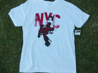 ENYCE White short sleeve T shirt Enyce Gentlemen's Club Tee Shirt M-XL ENYCE TEE