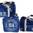 Phi Beta Sigma Duffle Bag Blue Running Fraternity Gym Travel Sports Luggage bag