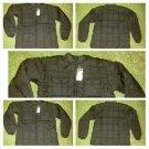 Mens Black Bubble Jacket Black Long Sleeve Puffer Jacket Winter Jacket S-3X