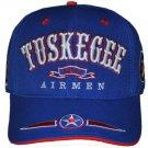 TUSKEGEE AIRMAN BASEBALL CAP HAT TUSKEGEE AIRMEN BLUE RED TAIL CAP NEW