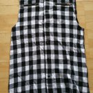 LAST KINGS Plaid sleeveless button up shirt Sleeveless button down shirt XL