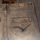 Light blue denim jean pante Blue jean pants Flap pocket blue denim jean W31X35L
