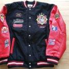 Negro League Wool Varsity Jacket Negro League NLBM Black baseball Jacket 5X