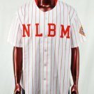 Womens Negro League Baseball Jersey S-3X Womens red pin stripe baseball jersey