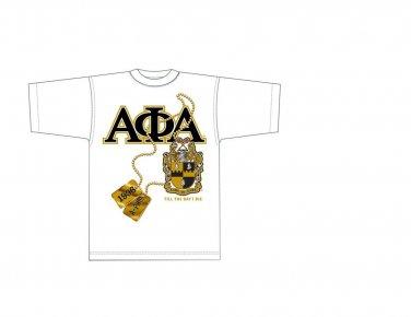 Alpha Phi Alpha short sleeve T shirt Alpha Phi Alpha White short sleeve T shirt