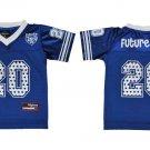 Girls Future Zeta Phi Beta Football Jersey Future Zeta Blue Kids Jersey S-XL