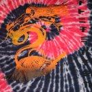 Mens pink short sleeve T shirt by Akcess L Tie dye Tye dye short sleeve t shirt