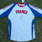 France Red White Blue Soccer Jersey France Futbol Soccer Jersey Soccer Tee S-XL