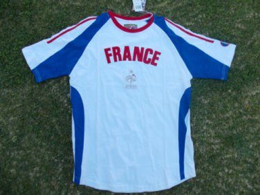 France Red White Blue Soccer Jersey France Futbol Soccer Jersey Soccer Tee S-XL
