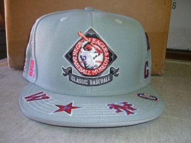 Negro League Baseball Cap Commemorative Gray Negro League Baseball Hat One size
