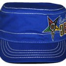 Order of the Eastern Star Blue Military style Cadet Hat Cap OES Captains Cap
