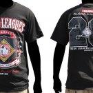 Negro League Legends short sleeve T shirt Negro League black T Shirt  M-4