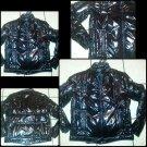 Black long sleeve puffy jacket Black long sleeve ski fashion polyester jacket