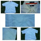 Mens white short sleeve button up shirt Mens casual button up short sleeve XL