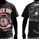 Black Sox Negro League short sleeve T shirt Negro League T Shirt  M-4