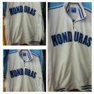Honduras White Blue Soccer Jacket Honduras long sleeve soccer track jacket M-3X