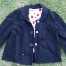 Womens Black Jacket Blazer Coat Long sleeve office casual dress Jacket M