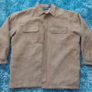 Brown long sleeve jacket Camel Mens Brown Polyester long sleeve jacket XL