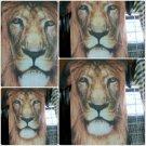 Lions Head Sublimation short sleeve T-SHIRT Lions Head short sleeve TEE  M-2X