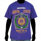 OMEGA PSI PHI PURPLE SHORT SLEEVE T-SHIRT Q DOG PURPLE SHORT SLEEVE T SHIRT L-5X