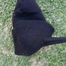Unisex Mens Kids Women black beanie hat Black brim Beanie cap hat skull cap