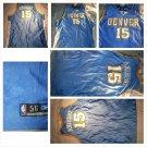 Carmelo Anthony Denver Nuggets #15 Reebok Denver Nugget basketball jersey SZ 56