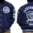 Jackson State University long sleeve jacket Letterman Coat JSU TIGERS M-5X
