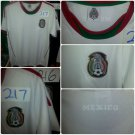 Mexico short sleeve soccer jersey White Mexico Soccer Jersey Soccer Jersey S-2X