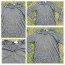Gray long sleeve V-neck hensley t-shirt Mens gray casual long sleeve T shirt L