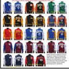 HSBC Fleece Varsity Jacket Tennessee State Tigers Fleece Baseball Jacket S-4