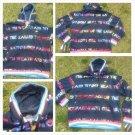 Parish Nation Navy Blue long sleeve zip up hoody hoodie jacket Hoody M-2XL