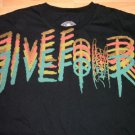 Five Four Black short sleeve T shirt Black Short sleeve crew neck T shirt 2XL