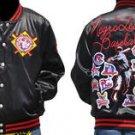 Negro League Jacket Mens Negro League Satin Letterman Baseball Jacket M-4X