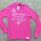 Buffalo David Bitton Red Long sleeve sweater Mens zip up pullover sweater L NWT