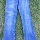 Women's Express Jeans stretch denim jean pants Women's blue denim jean pants 7/8