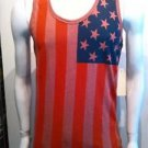 USA Flag Tank Top Mens Red American Flag Fashion Tank USA Tank top S-2X #5