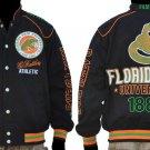 Florida A&M University Long sleeve Race Jacket HBCU COLLEGE JACKET S-4X #2