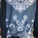 Bandana style long sleeve sweatshirt Sublimation pullover Fashion Sweater M-2