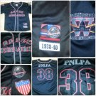 PNLP Negro League Baseball Jersey Black Senators Replica Jersey 1938-40 XL