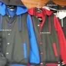 Gray Black Hoody Jacket Gray Long sleeve Hoodie Jacket Varsity Jacket M-2X #4
