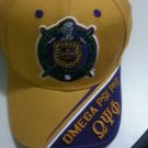 OMEGA PSI PHI GOLD PURPLE BASEBALL CAP GOLD OMEGA PSI PHI BASEBALL HAT #4