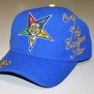 Order of the Eastern Star Baseball Cap OES Blue Baseball Hat NWT Eastern Star