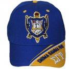 SIGMA GAMMA RHO BLUE GOLD BASEBALL HAT CAP BLUE GOLD SIGMA GAMMA RHO HAT