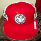 Negro League Baseball Hat Commemorative Red Negro League Baseball Hat 7 1/4