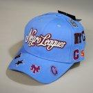 Negro League Baseball Hat Commemorative Negro League Baseball Hat Adjustable SKY