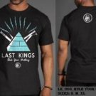 LAST KINGS BLACK SHORT SLEEVE T SHIRT LAST KINGS DESTINY T SHIRT S-XL NWT #1