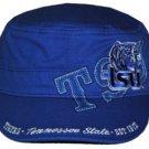 Tennessee State University TSU Blue Captains Cap Baseball Cadet Captains Cap Hat