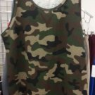 Camouflage GREEN TANK TOP  Pro Club Camouflage green Tank Top Shirt S-5X 6PACK