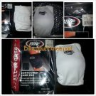 NEW Bike White All Sports Contoured Knee Pads Size Adult Single Knee Pad  XS