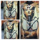 Egyptian sphinx Sublimation short sleeve T-SHIRT Spinx Head short sleeve M-2X